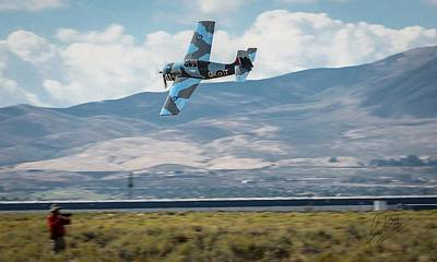 Photograph - Go Fast Turn Left Fly Low Friday Morning Unlimited Broze Class Signature Edition by John King