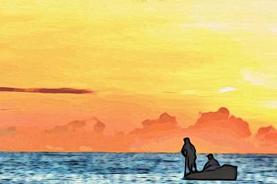 Go Fishing Art Print