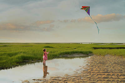 Photograph - Go Fly A Kite by Betty Wiley