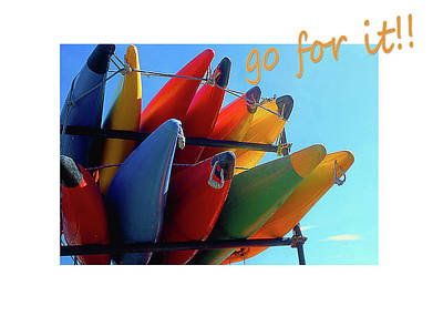 Photograph - Go For It by Nareeta Martin