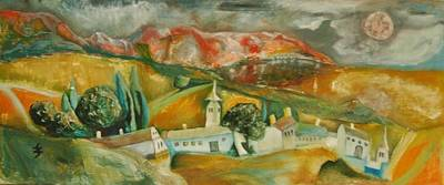 Painting - Go Home by Gyorgy Szilagyi