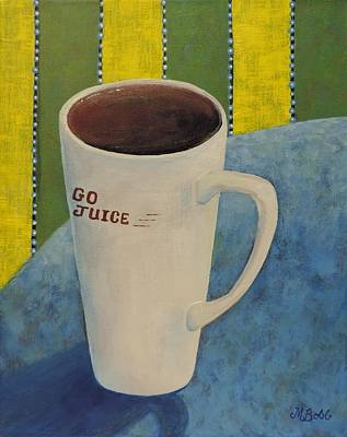 Painting - Go Juice by Margaret Bobb