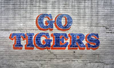 Photograph - Go Tigers by JC Findley