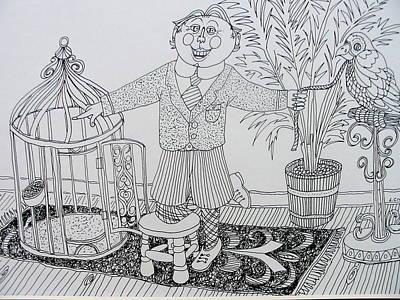 Go To Your Room Art Print by Lou Cicardo
