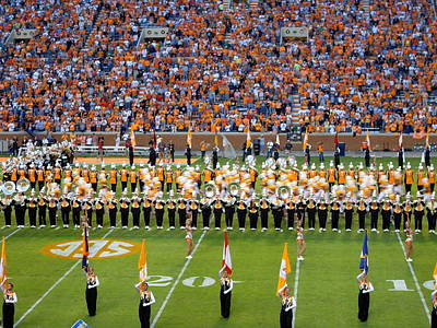 Marching Band Photograph - Go Vols by April Patterson
