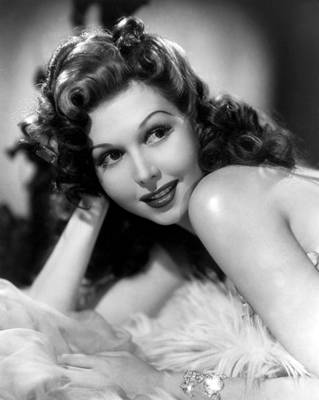 Diamond Bracelet Photograph - Go West Young Lady, Ann Miller, 1941 by Everett