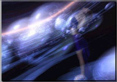 Giving Digital Art - Go With The Flow by Gun Legler