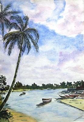 Goa Art Print by Monika Deo