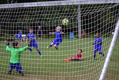 Photograph - Goal by Randy Bayne
