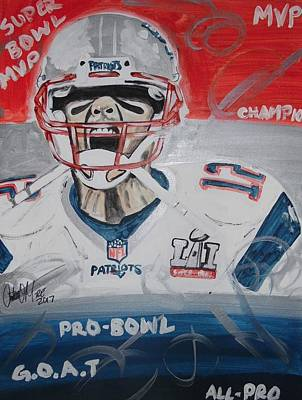 Painting - Goat Brady by Antonio Moore