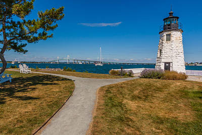 Photograph - Goat Island Light by Brian MacLean