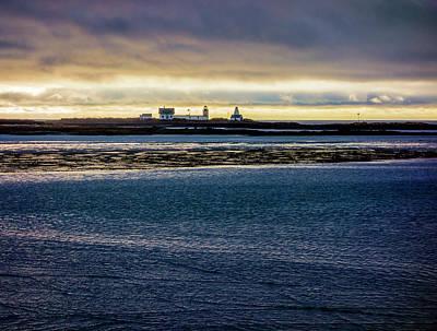 Photograph - Goat Island Light by Gary Shepard