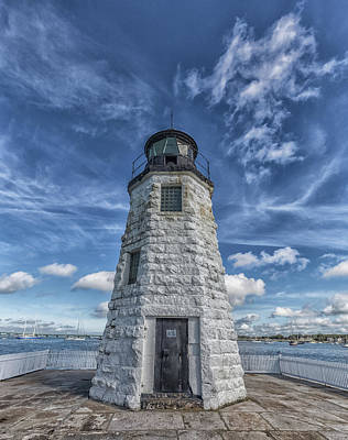 Photograph - Goat Island Lighthouse by Brian MacLean