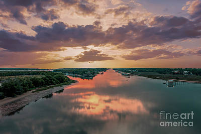 Photograph - Goat Island Sunrise by Dale Powell