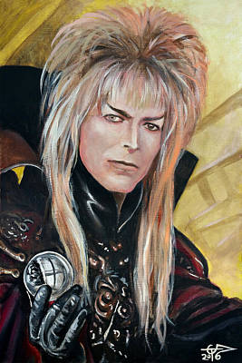 Painting - Goblin King by Tom Carlton