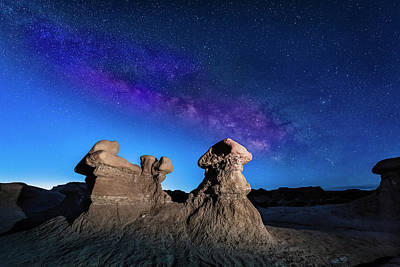 Goblin Valley Photograph - Goblin Milky Way  by Dave Koch