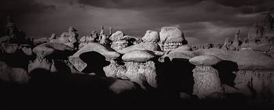 Bonneville Nationals Photograph - Goblin Valley Utah 204 by Mike Penney