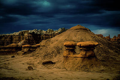 Surrealism Royalty-Free and Rights-Managed Images - Goblin Valley 101 by Mike Penney