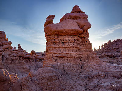 Photograph - Goblin Valley 17 by Leland D Howard