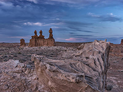 Photograph - Goblin Valley 3 by Leland D Howard