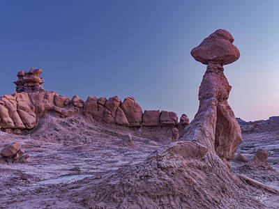 Photograph - Goblin Valley 7 by Leland D Howard
