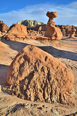Curated Beach Towels - Goblin Valley State Park by Ray Mathis