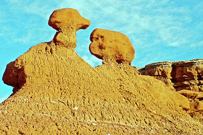 Photograph - Goblins On Entrada Trail In Goblin Valley State Park, Utah by Ruth Hager