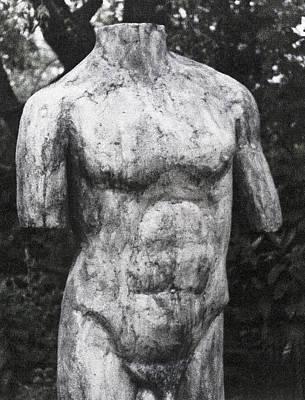 Sculpture - God Ageas by Michael Rutland