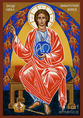Painting - God Almighty Father - Jcgaf by Joan Cole