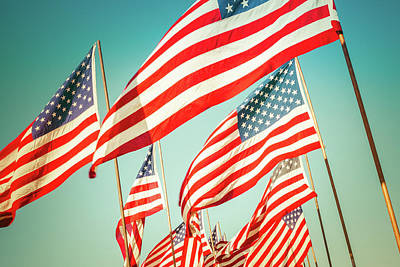 Landmarks Rights Managed Images - God Bless America Royalty-Free Image by Debi Bishop