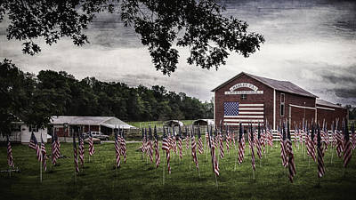 Photograph - God Bless America by Eduard Moldoveanu