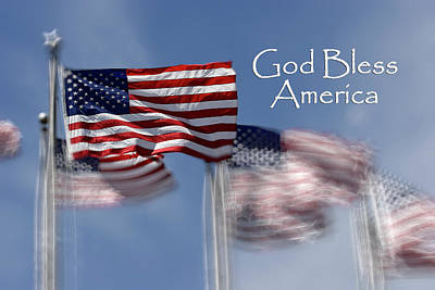Photograph - God Bless America by Jill Lang
