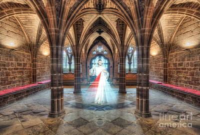 Medieval Temple Photograph - God Hears Our Prayers by Ian Mitchell