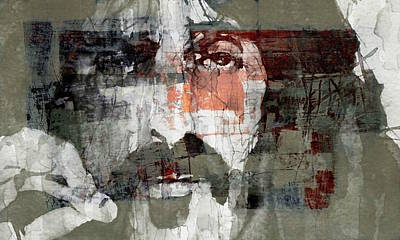 Mixed Media - God I Think I'm The American Dream  by Paul Lovering