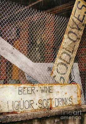 God Loves Beer  Art Print by Steven Digman