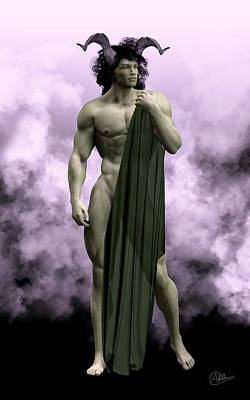 Hades Digital Art - God Of The Underworld by Quim Abella
