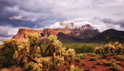 Photograph - God On The Mountain by Rick Furmanek