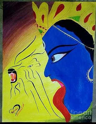 Beautiful Maa Durga Paintings Pixels