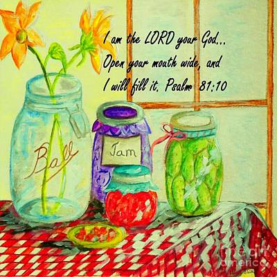 God Provides Art Print