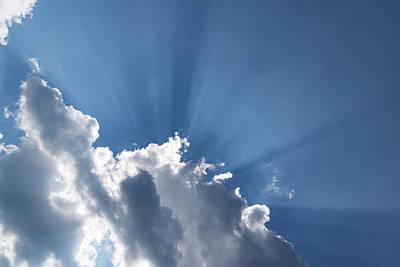 Photograph - God Rays by Georgia Mizuleva