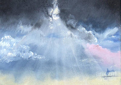 Colored Pencils - God Rays by Nila Jane Autry