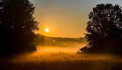 Photograph - God Rays by Robert McKay Jones