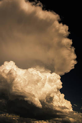 Photograph - God Speaks In Thunder by Mick Anderson