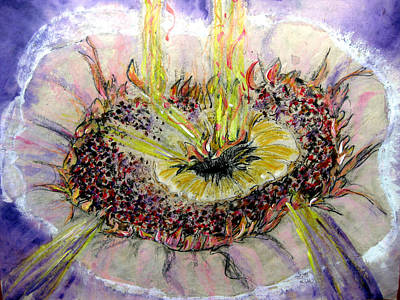 Mixed Media - God That Center by Sarah Hornsby