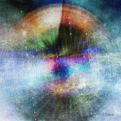 Painting - God Vibration by Linda Cornelius
