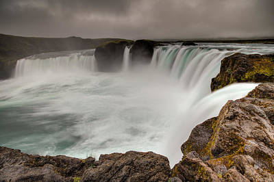 Photograph - Godafoss by Brad Grove