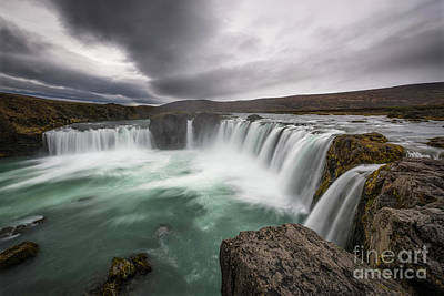 Photograph - Godafoss Fury  by Michael Ver Sprill