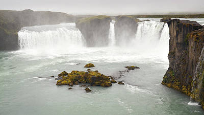 Photograph - Godafoss by Joe Bonita