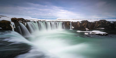 Waterfall Photograph - Godafoss by Tor-Ivar Naess
