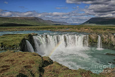 Photograph - Godafoss Waterfall In Iceland by Patricia Hofmeester